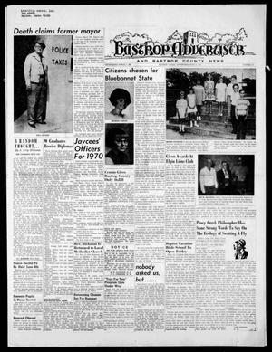 Primary view of object titled 'Bastrop Advertiser and Bastrop County News (Bastrop, Tex.), Vol. [117], No. 14, Ed. 1 Thursday, June 4, 1970'.