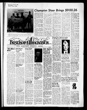 Primary view of object titled 'Bastrop Advertiser and Bastrop County News (Bastrop, Tex.), Vol. [118], No. 4, Ed. 1 Thursday, March 25, 1971'.