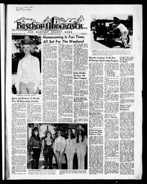 Primary view of object titled 'Bastrop Advertiser and Bastrop County News (Bastrop, Tex.), Vol. [118], No. 22, Ed. 1 Thursday, July 29, 1971'.