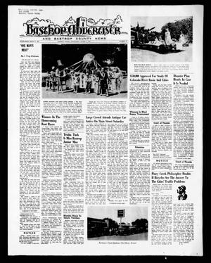 Primary view of object titled 'Bastrop Advertiser and Bastrop County News (Bastrop, Tex.), Vol. [118], No. 23, Ed. 1 Thursday, August 5, 1971'.