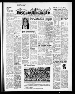 Primary view of object titled 'Bastrop Advertiser and Bastrop County News (Bastrop, Tex.), Vol. [118], No. 30, Ed. 1 Thursday, September 23, 1971'.