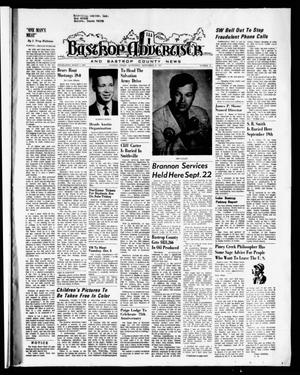 Primary view of object titled 'Bastrop Advertiser and Bastrop County News (Bastrop, Tex.), Vol. [118], No. 31, Ed. 1 Thursday, September 30, 1971'.