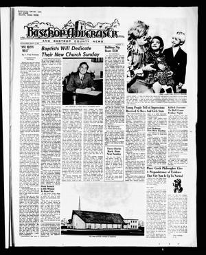 Primary view of object titled 'Bastrop Advertiser and Bastrop County News (Bastrop, Tex.), Vol. [118], No. 35, Ed. 1 Thursday, October 28, 1971'.