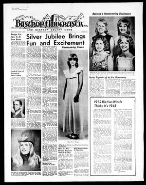Primary view of object titled 'Bastrop Advertiser and Bastrop County News (Bastrop, Tex.), Vol. [119], No. 23, Ed. 1 Thursday, August 3, 1972'.