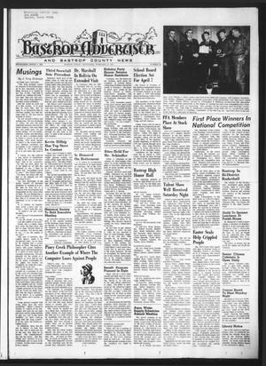 Primary view of object titled 'Bastrop Advertiser and Bastrop County News (Bastrop, Tex.), Vol. [119], No. 52, Ed. 1 Thursday, February 22, 1973'.