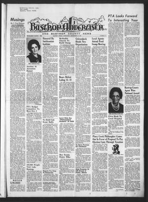 Primary view of object titled 'Bastrop Advertiser and Bastrop County News (Bastrop, Tex.), Vol. [120], No. 31, Ed. 1 Thursday, September 27, 1973'.