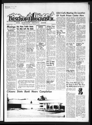 Primary view of object titled 'Bastrop Advertiser and Bastrop County News (Bastrop, Tex.), Vol. [121], No. 28, Ed. 1 Thursday, September 12, 1974'.