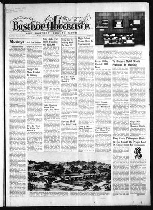 Primary view of object titled 'Bastrop Advertiser and Bastrop County News (Bastrop, Tex.), Vol. [121], No. 52, Ed. 1 Thursday, February 27, 1975'.