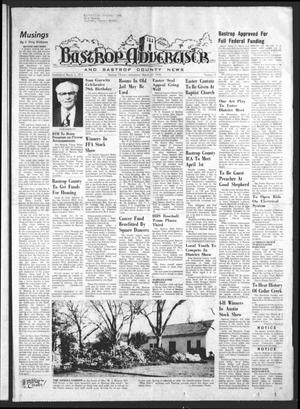 Primary view of object titled 'Bastrop Advertiser and Bastrop County News (Bastrop, Tex.), Vol. [122], No. 4, Ed. 1 Thursday, March 27, 1975'.