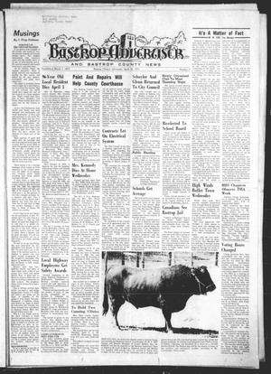 Primary view of object titled 'Bastrop Advertiser and Bastrop County News (Bastrop, Tex.), Vol. [122], No. 6, Ed. 1 Thursday, April 10, 1975'.