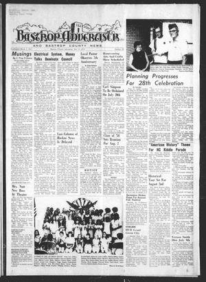 Primary view of object titled 'Bastrop Advertiser and Bastrop County News (Bastrop, Tex.), Vol. [122], No. 20, Ed. 1 Thursday, July 17, 1975'.