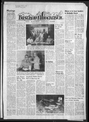 Primary view of object titled 'Bastrop Advertiser and Bastrop County News (Bastrop, Tex.), Vol. [122], No. 35, Ed. 1 Thursday, October 30, 1975'.