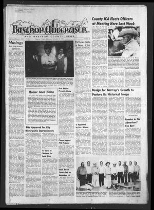 Primary view of object titled 'Bastrop Advertiser and Bastrop County News (Bastrop, Tex.), Vol. [122], No. 36, Ed. 1 Thursday, November 6, 1975'.
