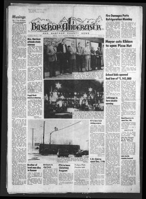 Primary view of object titled 'Bastrop Advertiser and Bastrop County News (Bastrop, Tex.), Vol. [122], No. 40, Ed. 1 Thursday, December 4, 1975'.