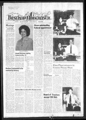 Primary view of object titled 'Bastrop Advertiser and Bastrop County News (Bastrop, Tex.), Vol. [122], No. 41, Ed. 1 Thursday, December 11, 1975'.