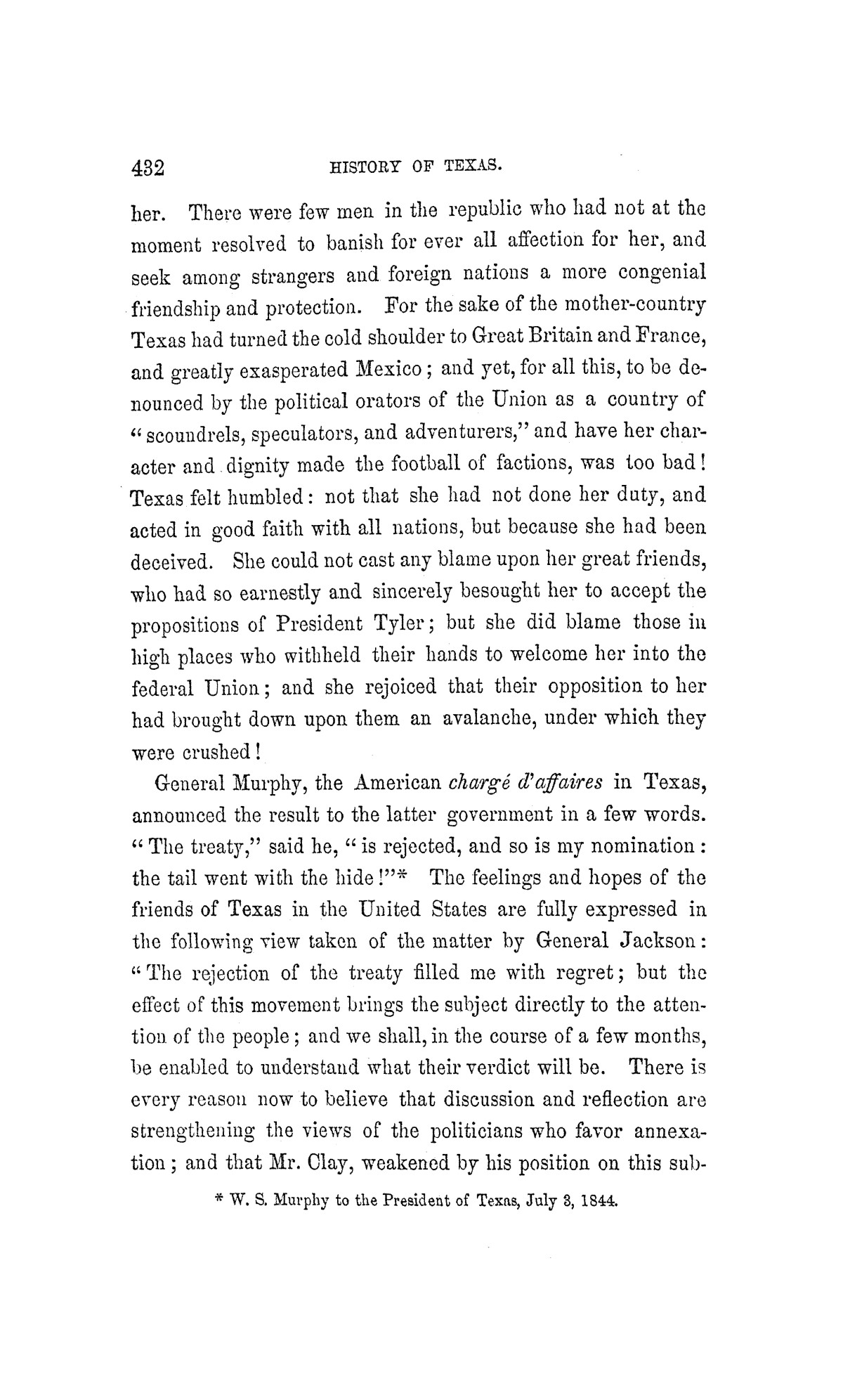 History of Texas: From Its First Settlement in 1685 to Its Annexation to the United States in 1846, Volume 2                                                                                                      [Sequence #]: 440 of 584