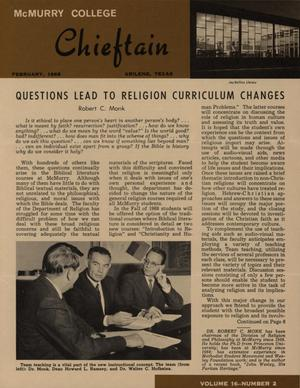 Chieftain, Volume 16, Number 2, February 1968