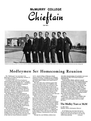 Primary view of object titled 'Chieftain, Volume 19, Number 3, Fall 1971'.