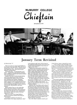Primary view of object titled 'Chieftain, Volume 19, Number 2, Spring-Summer 1971'.
