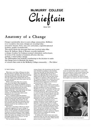 Primary view of object titled 'Chieftain, Volume 20, Number 1, Winter 1972'.