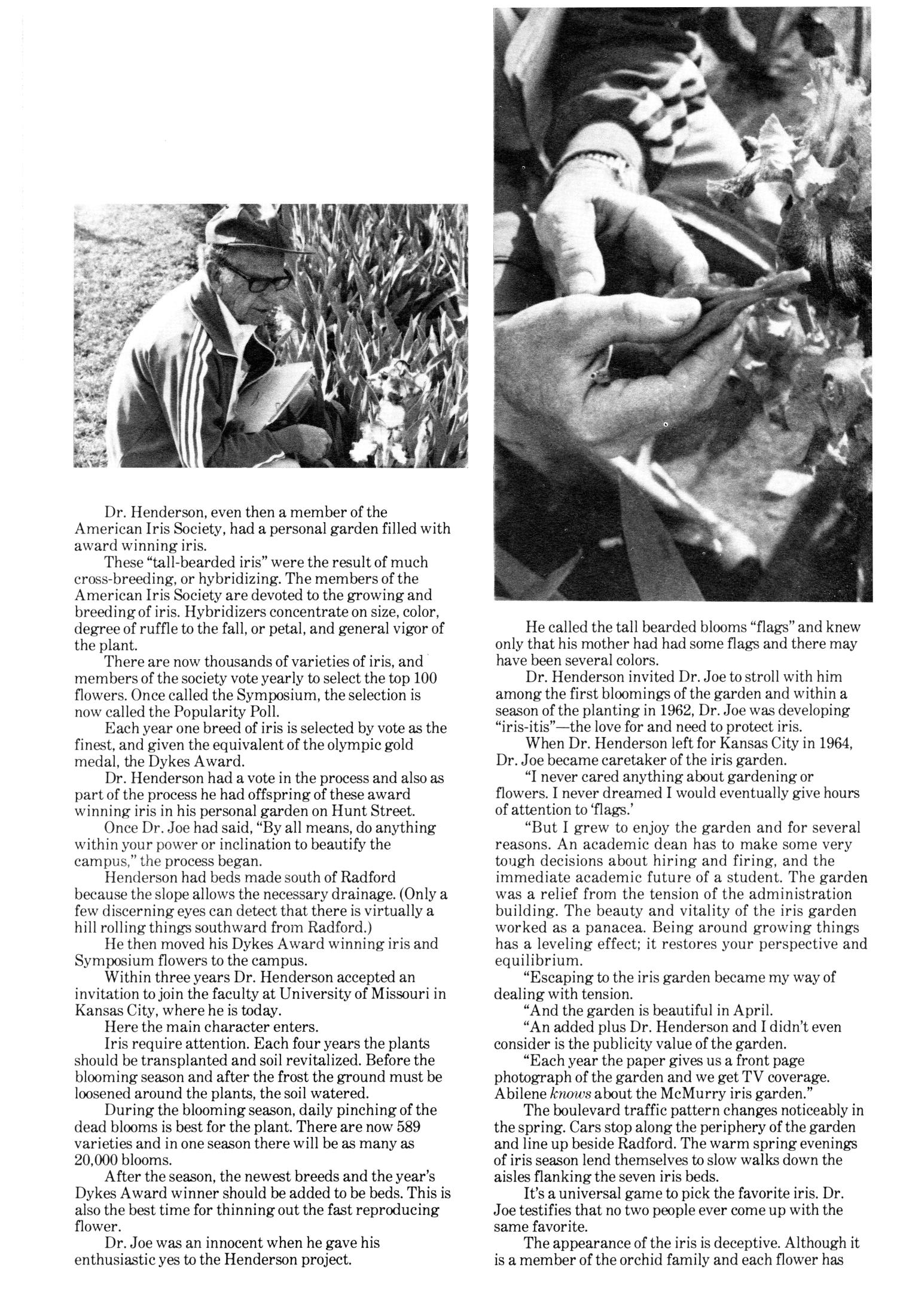 Chieftain, Volume 30, Number 1, Spring 1981                                                                                                      2