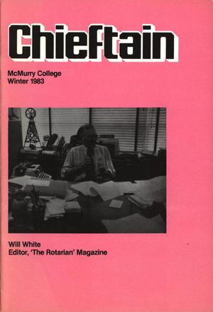 Primary view of object titled 'Chieftain, [Volume 32], [Number 4], Winter 1983'.