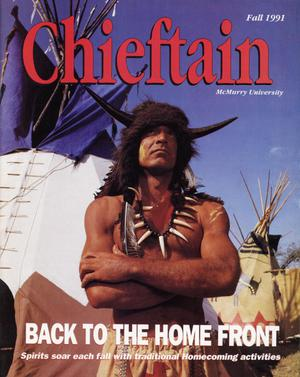 Primary view of object titled 'Chieftain, Volume 41, Number 3, Fall 1991'.