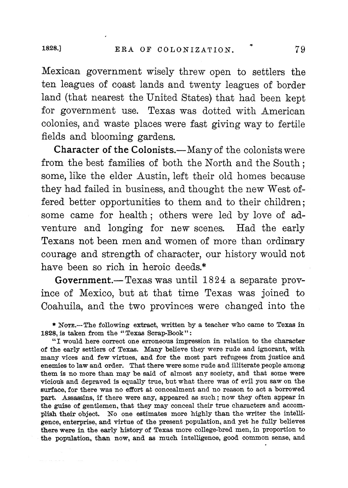 A new history of Texas for schools : also for general reading and for teachers preparing themselves for examination                                                                                                      [Sequence #]: 95 of 412