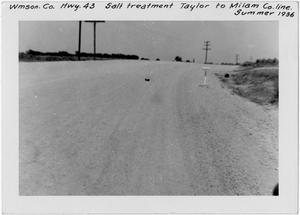 [U.S. Highway 79 Salt strabilization treatment]