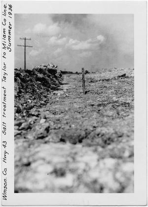 [U.S. Highway 79 Salt-stabilized gravel]
