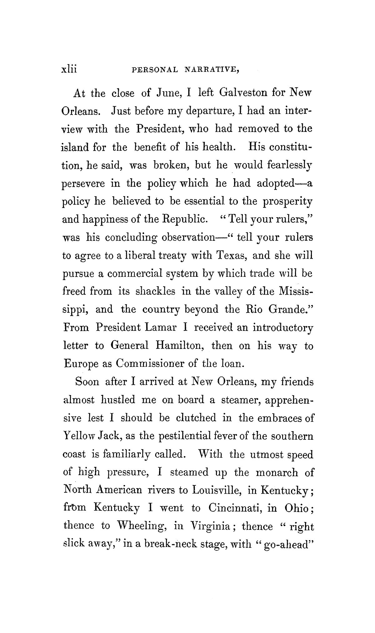 Texas: the rise, progress, and prospects of the Republic of Texas, Vol.1                                                                                                      [Sequence #]: 42 of 432