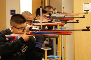 [Air Rifle Team for Paschal High School in Fort Worth]