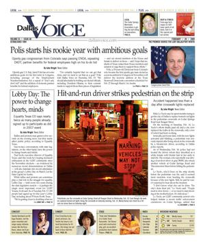 Dallas Voice (Dallas, Tex.), Vol. 25, No. 40, Ed. 1 Friday, February 20, 2009