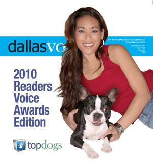 Primary view of object titled 'Dallas Voice (Dallas, Tex.), Vol. 26, No. 44, Ed. 1 Friday, March 19, 2010'.