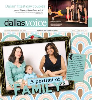 Primary view of object titled 'Dallas Voice (Dallas, Tex.), Vol. 28, No. 11, Ed. 1 Friday, July 29, 2011'.