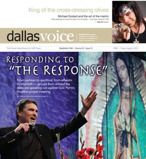 Dallas Voice (Dallas, Tex.), Vol. 28, No. 12, Ed. 1 Friday, August 5, 2011