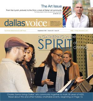 Dallas Voice (Dallas, Tex.), Vol. 28, No. 29, Ed. 1 Friday, December 2, 2011