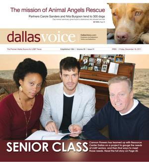 Dallas Voice (Dallas, Tex.), Vol. 28, No. 31, Ed. 1 Friday, December 16, 2011
