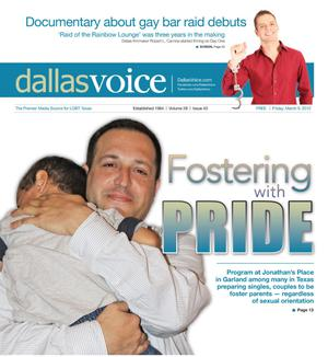 Primary view of object titled 'Dallas Voice (Dallas, Tex.), Vol. 28, No. 43, Ed. 1 Friday, March 9, 2012'.