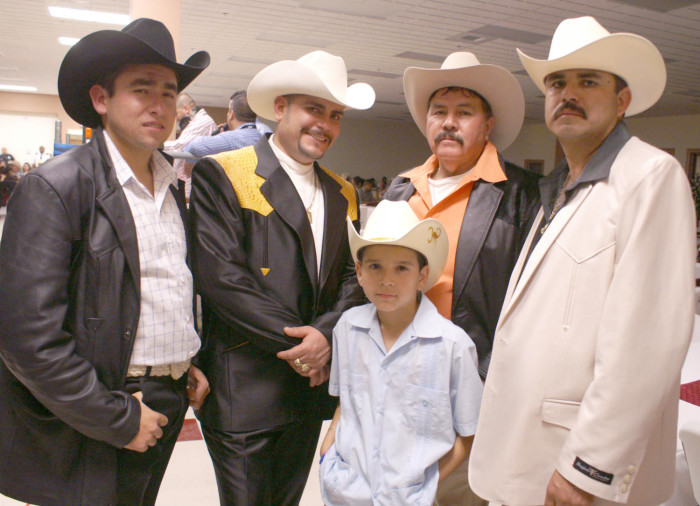 Four men and a boy wearing cowboy hats  - The Portal to Texas History 5dd9b51f4e43