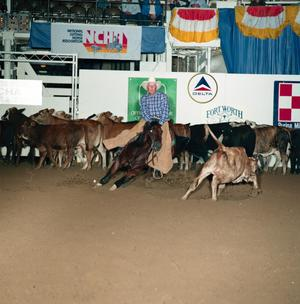 Primary view of object titled '[Cutting Horse Competition: Dry Peppys Sorra #3]'.