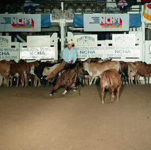 Primary view of object titled 'Cutting Horse Competition: Image 1991_D-145_01'.