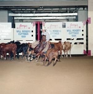 Primary view of object titled 'Cutting Horse Competition: Image 1991_D-15_02'.