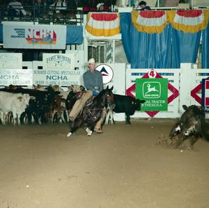 Primary view of object titled '[Cutting Horse Competition: Lead Free #7]'.