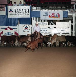 Primary view of Cutting Horse Competition: Image 1991_D-207_12