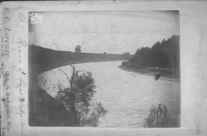 Primary view of object titled '[Brazos River at low water mark]'.