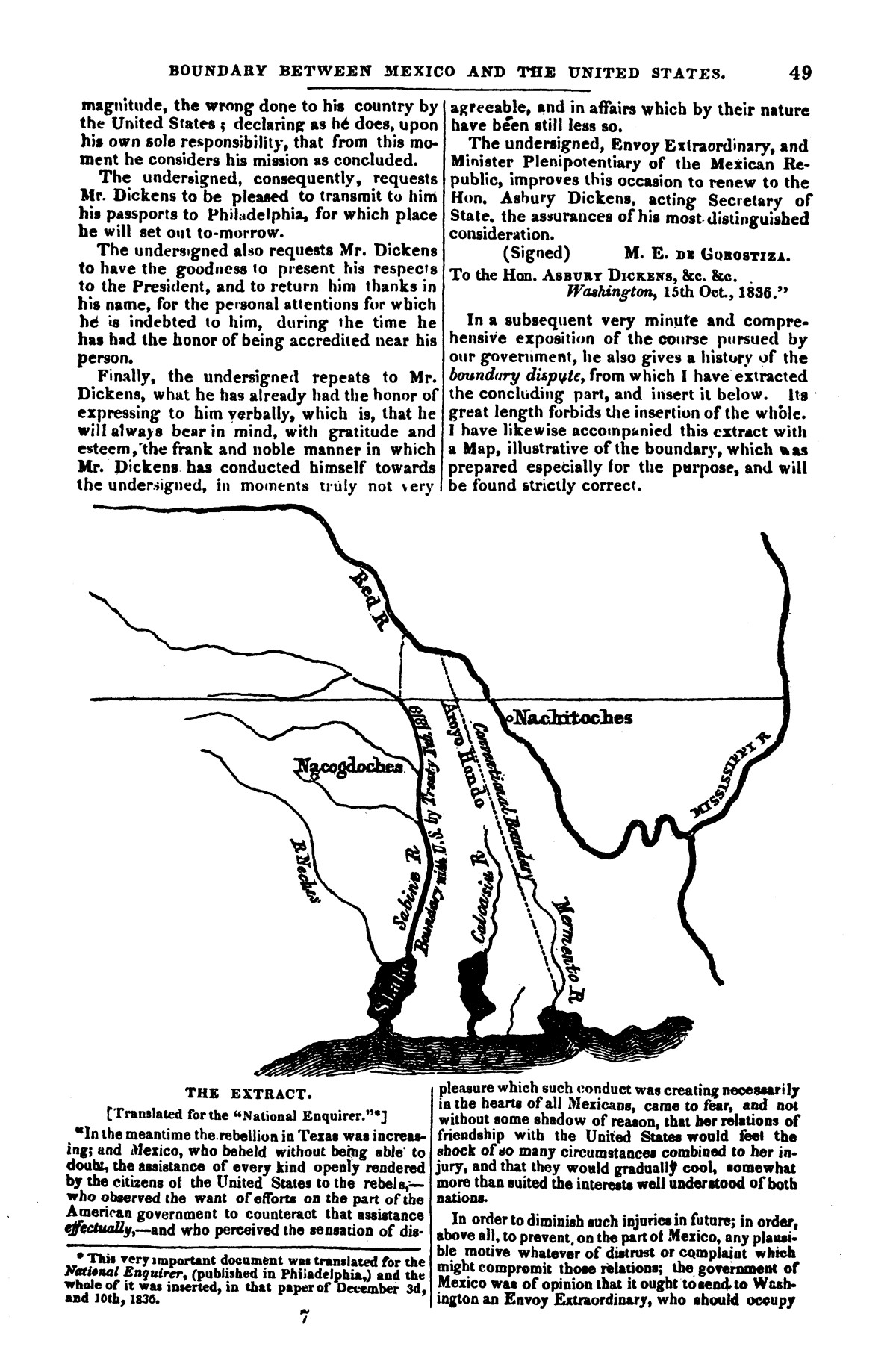 The war in Texas; a review of facts and circumstances, showing that this contest is a crusade against Mexico, set on foot by slaveholders, land speculators, & c. in order to re-establish, extend, and perpetuate the system of slavery and the slave trade.                                                                                                      [Sequence #]: 49 of 64