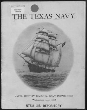 Primary view of object titled 'Texas Navy'.