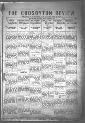 The Crosbyton Review. (Crosbyton, Tex.), Vol. 2, No. 51, Ed. 1 Thursday, December 22, 1910
