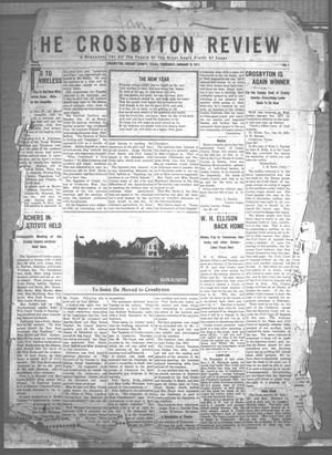 The Crosbyton Review. (Crosbyton, Tex.), Vol. [3], No. 1, Ed. 1 Thursday, January 5, 1911
